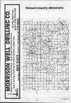 Filmore County Index Map 1, Fillmore and Houston Counties 1986